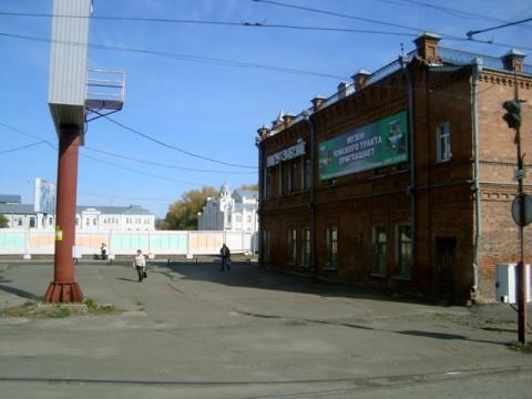 Бийск. Музей Чуйского тракта.