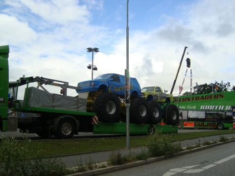 Big Foot - Monster Trucks in Luebeck!