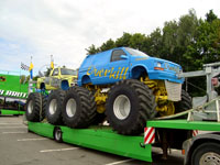 Шоу Monster Trucks в Германии