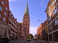 Любек. Старый город.