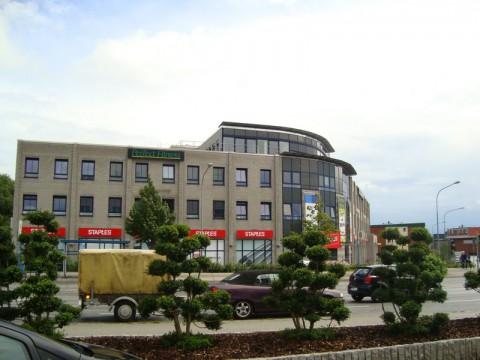 Здание напротив азиатского ресторана в Любеке.