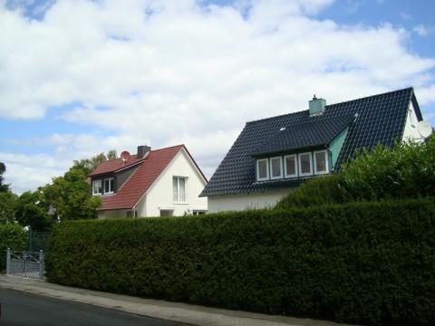 Недалеко от Балтийского Моря. Уютные домики.