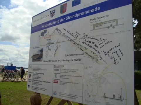 План реконструкции набережной Балтийского моря.