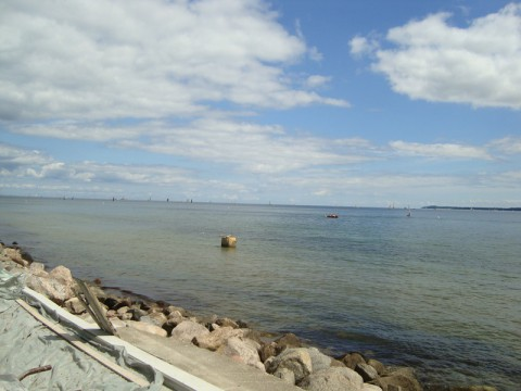 А вот и само Балтийское Море!