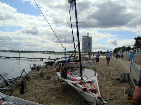 Парусный спорт в Любеке (Ostsee Strandpromenade)