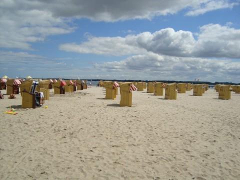 Пляж на Балтийском море (Любек. Германия)