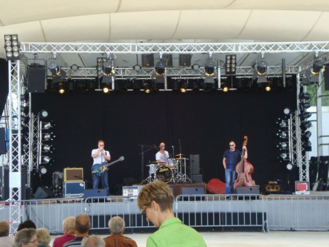 Рок-музыканты Любека - на набережной Ostsee