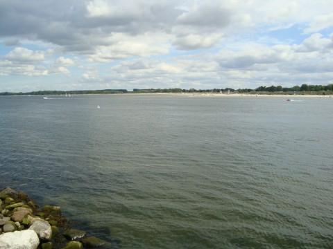 Начало Балтийского моря с устья реки Траве