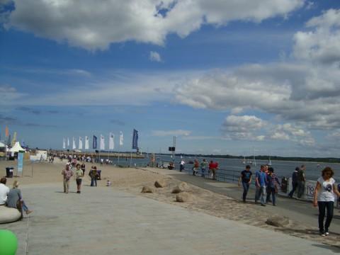 Хорошая погода на побережье Балтийского моря