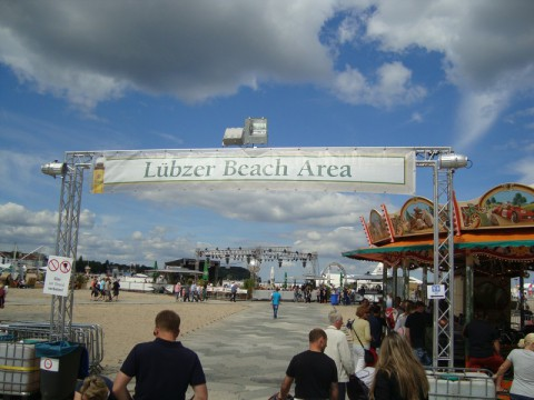 Luebzer Beach Area