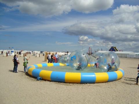 Водные шары в Любеке на Балтийском море