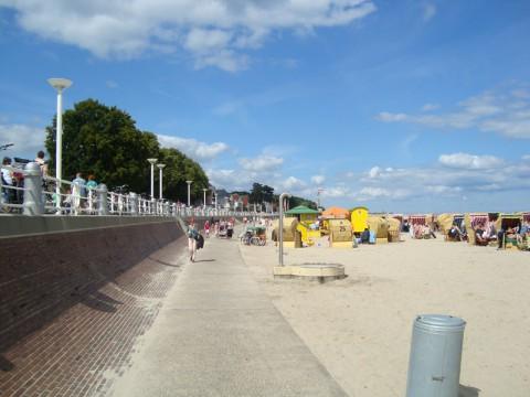 Ostsee Strandpromenade