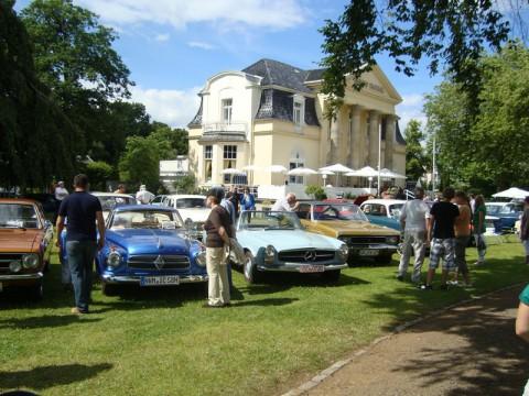 Ostsee - выставка старинных автомобилей