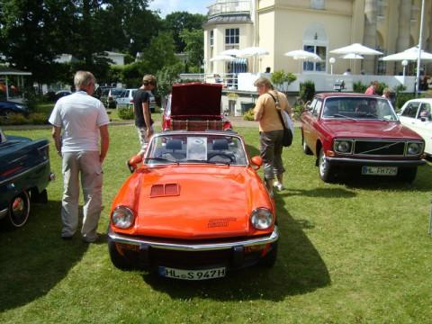 Выставка старинных автомобилей в Любеке (Ostsee)