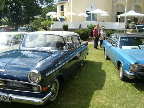 Выставка старинных автомобилей в Германии