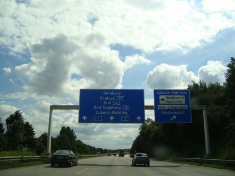 Типичный немецкий автобан