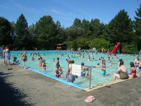 Открытый бассейн - Freibad Moisling в Любеке!