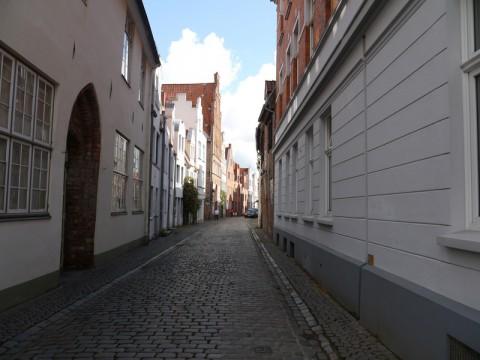 Закоулки-переулки в Любеке