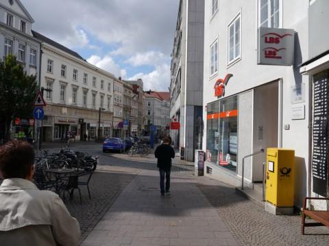 На улице в Любеке