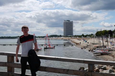Я в Германии на Ostsee Strandpromenade