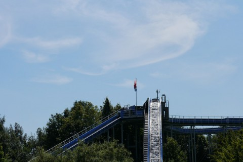 Wasserbahn Super Splash in Hansa Park