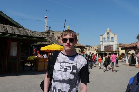 Это я после super splash и прохождения препятствий)))))