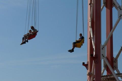 Летающая карусель в Ханза Парке