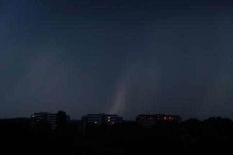 Гром и молния в Любеке.