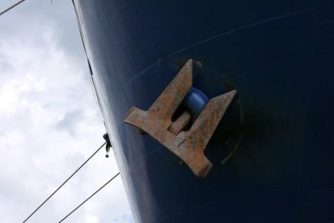 В порту Гамбурга