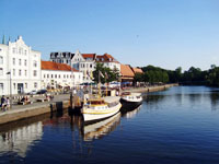 Luebeck. Trave