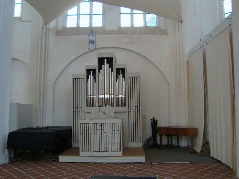 Орган в церкви святого Петра