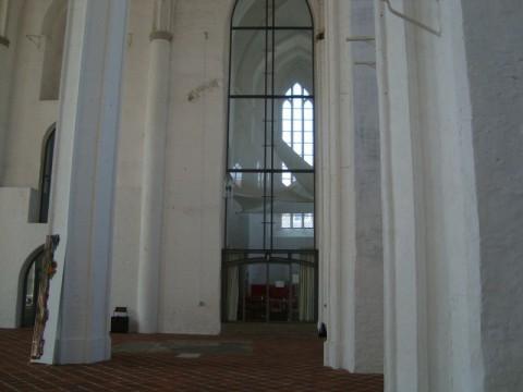 Любек. Внутри церкви святого Петра
