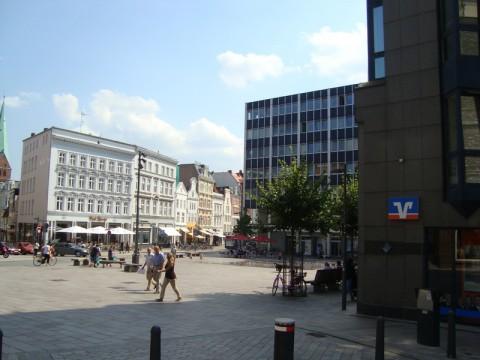 Небольшая площадь в центре Любека