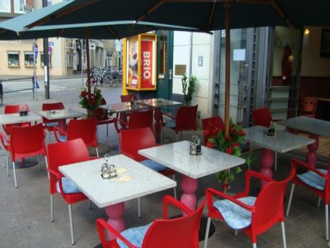 Снова какое-то кафе в Любеке