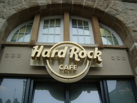 Hard Rock Cafe в Гамбурге