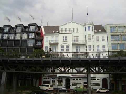 Район порта Гамбурга