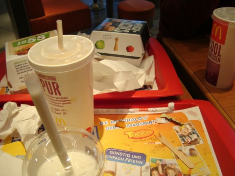 Вкусный обед в Макдональдсе
