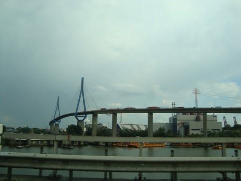 Самый высокий мост в Гамбурге