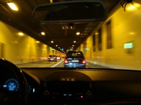 В подводном туннеле Гамбурга!
