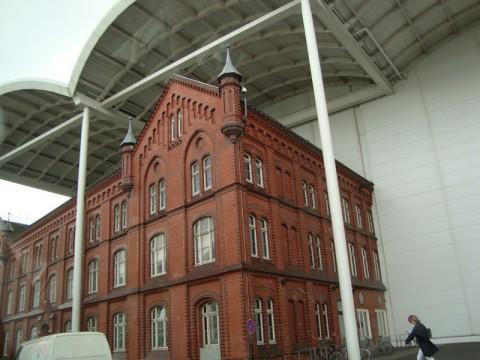 Какое-то здание в Гамбурге