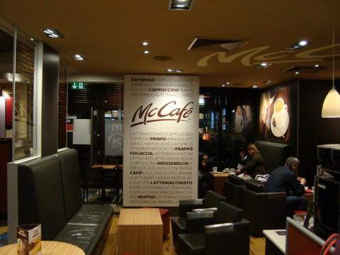 McCafe в Гамбурге