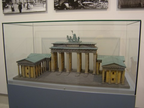Музей Колонны Победы в Берлине. Бранденбургские ворота