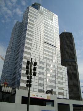 Высотные здания в районе Курфюрстендамм