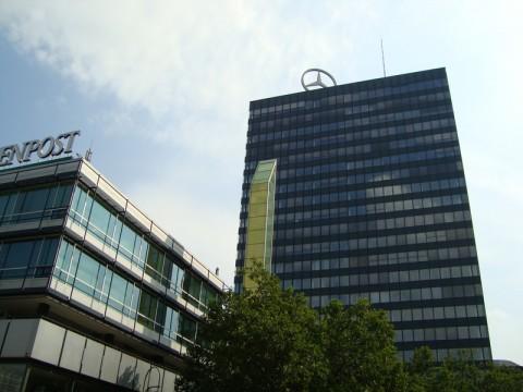 Здание Мерседеса в Берлине