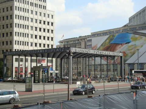 Potsdamer Platz Bahnhof - станция метро в Берлине