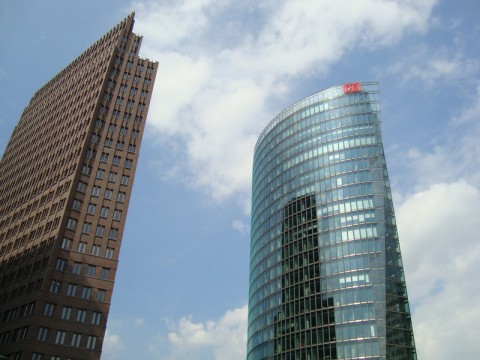 Kollhoff Tower und DB in Berlin