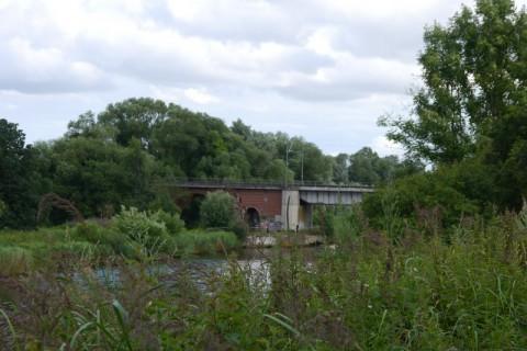 Река Траве и мост