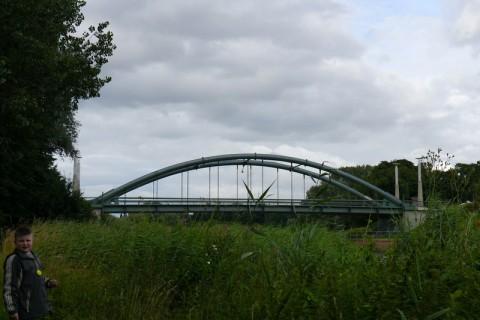 Река Траве. Мост