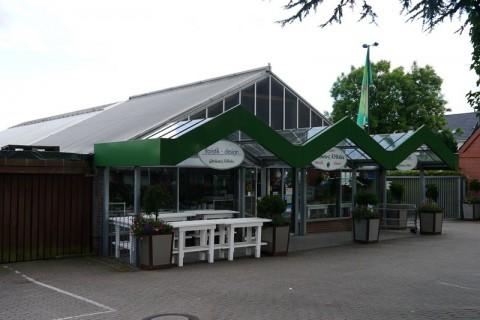 Цветочный магазин в районе Moisling в Любеке