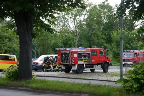 Пожарные учения в Любеке